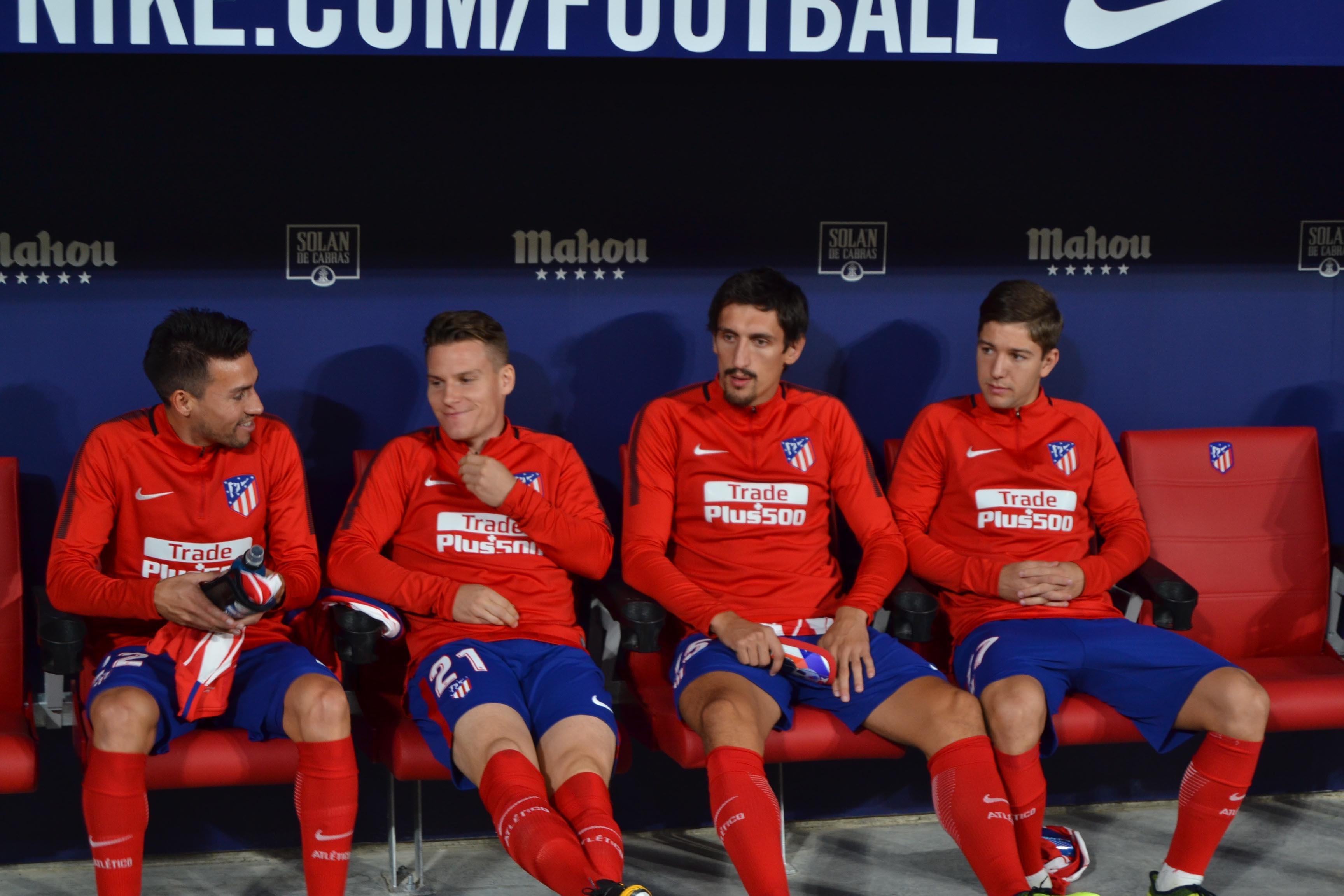 Diego Costa y Koke, listos para el once contra el Getafe
