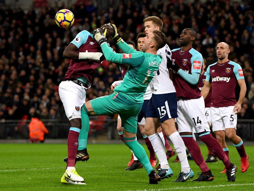 El Tottenham rescató un empate frente al West Ham