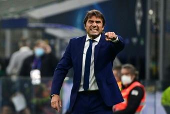 Antonio Conte rêve d'entraîner Manchester City. afp