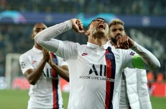 Thiago Silva attristé par l'arrivée de Sergio Ramos au PSG. AFP