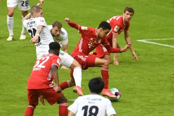 Musiala has got injured while in his best form for Bayern. AFP