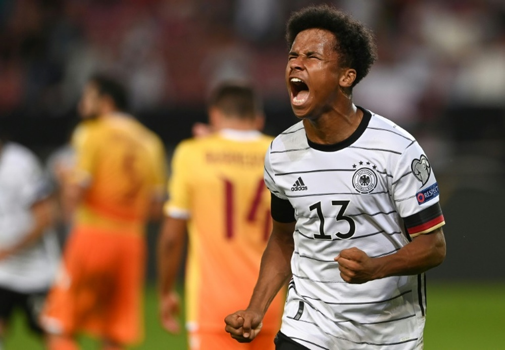 Three of the biggest clubs in Europe keep an eye in the German prospect. AFP