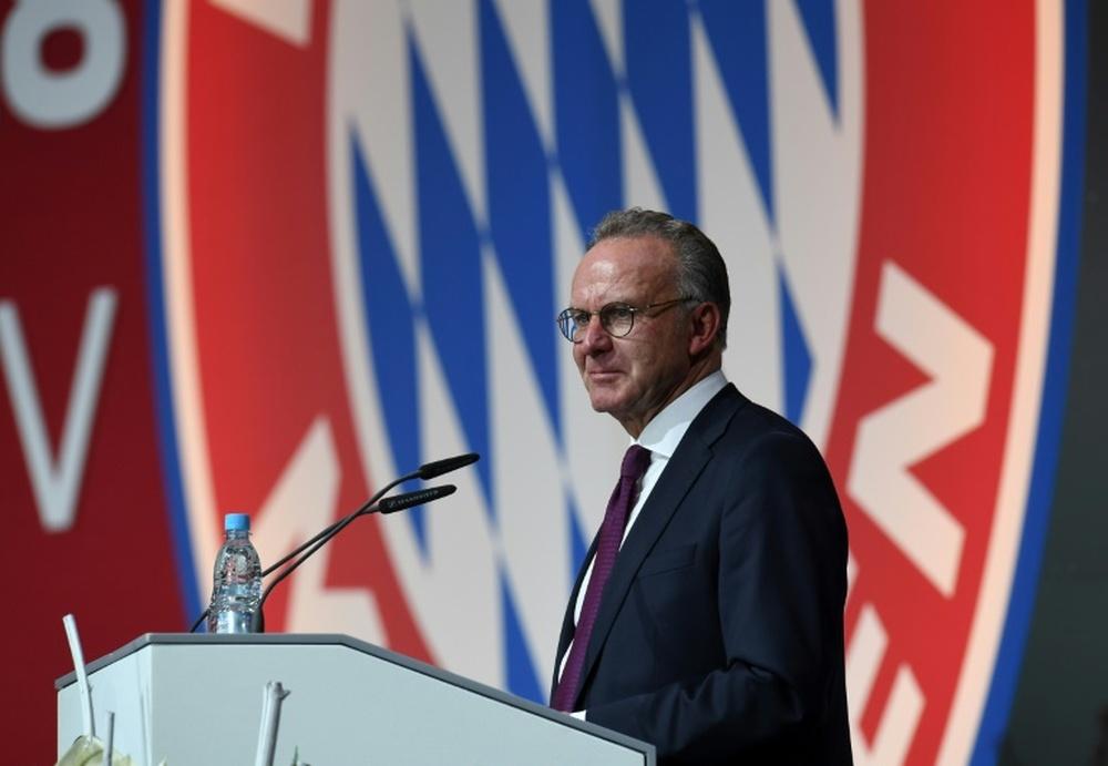 La Bayern n'est pas encore fixé. AFP
