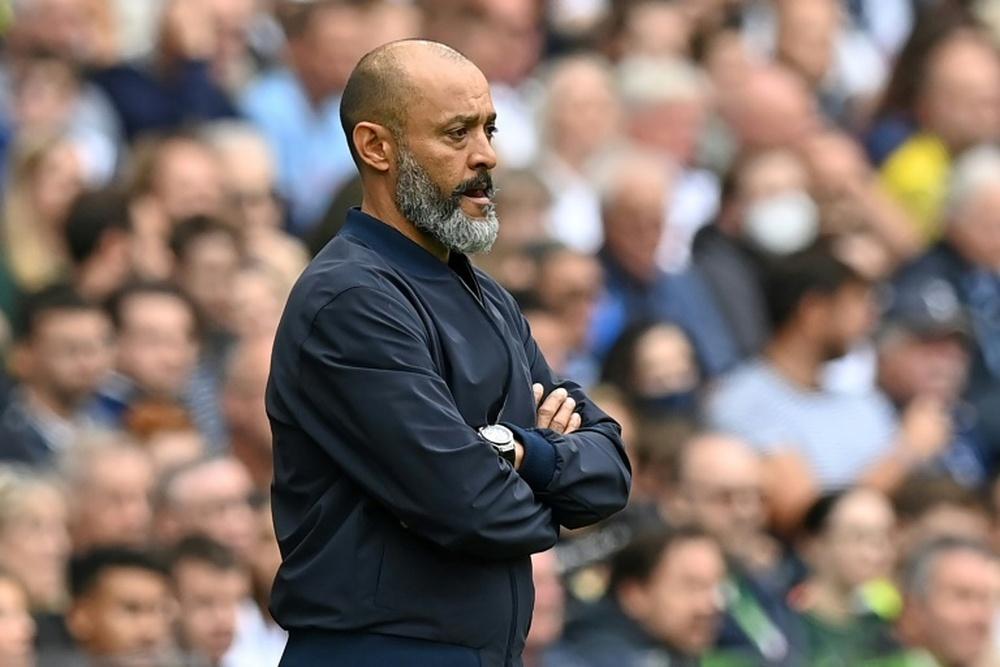 Nuno Espirito Santo élu entraîneur du mois d'août en Premier League. afp