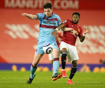 Man Utd have pulled out the race to sign Declan Rice. AFP