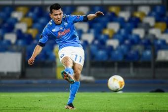 Le formazioni ufficiali di Genoa-Napoli. AFP