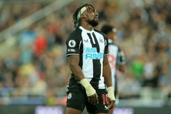 Newcastle veut verrouiller Allan Saint-Maximin. afp