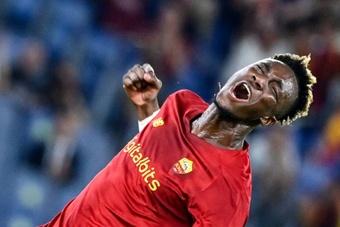 Le formazioni ufficiali di Roma-Trabzonspor. AFP