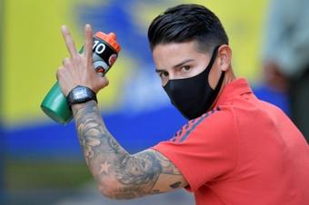 Al-Rayyan are James' possible new club. AFP