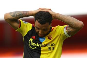 O racismo ainda continua forte no futebol. AFP