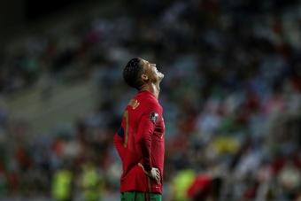 Cristiano Ronaldo quitte le rassemblement du Portugal. afp