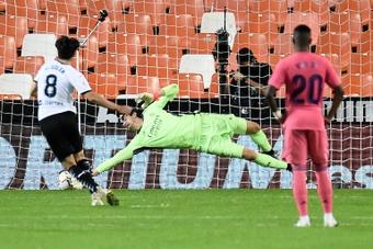 Valencia-Real Madrid. AFP