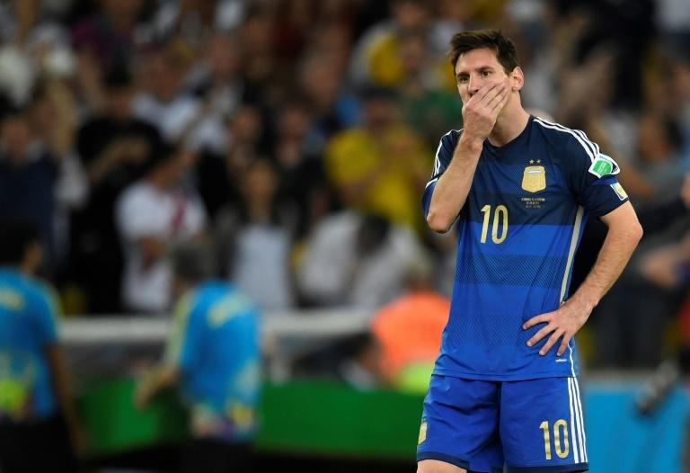 Messi, el único rescoldo de la final de 2014