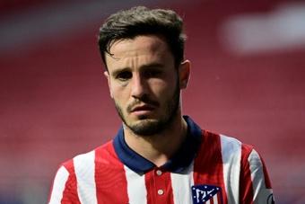 Chelsea esteve perto de deixar Saúl no Atlético e Griezmann no Barça.AFP