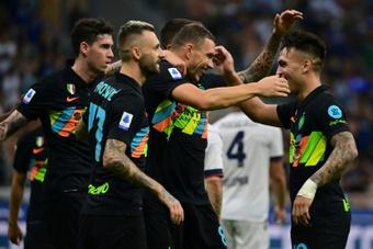 Ultim'ora del calcio italiano in data 18 settembre 2021. AFP