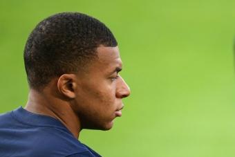 Mbappe could not sign for Madrid. AFP