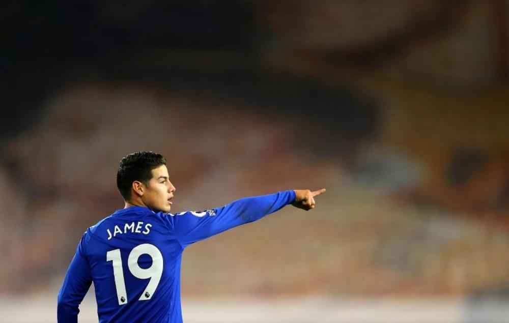 Accord entre Everton et Istanbul Basaksehir pour James Rodriguez. afp