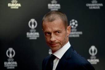 La UEFA retira la sanción a Madrid, Barcelona y Juventus. AFP