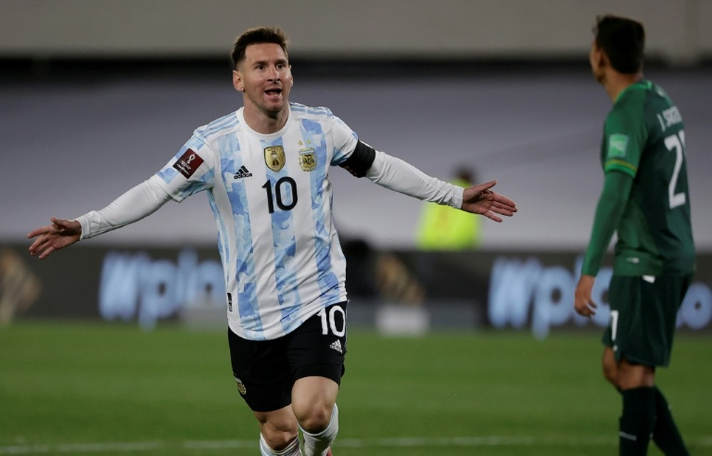 Messi : J'ai souvent rêvé de ce jour. afp