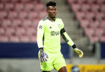 Onana will leave Ajax at the end of the season to go to Inter. AFP