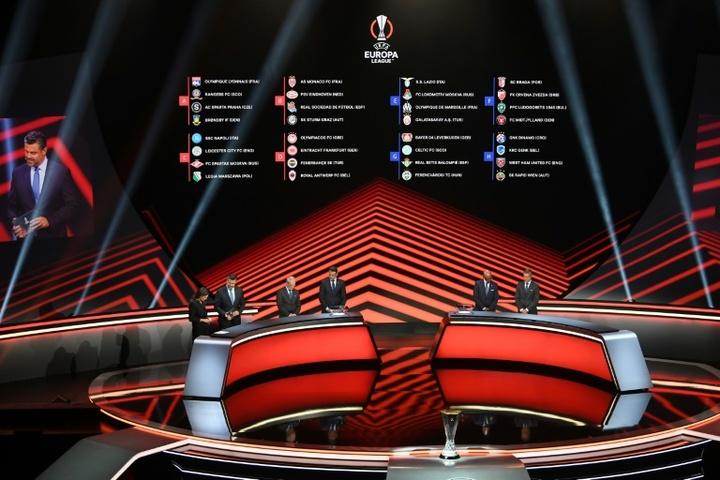 Voici le nouveau format de l'Europa League 2021/22. AFP