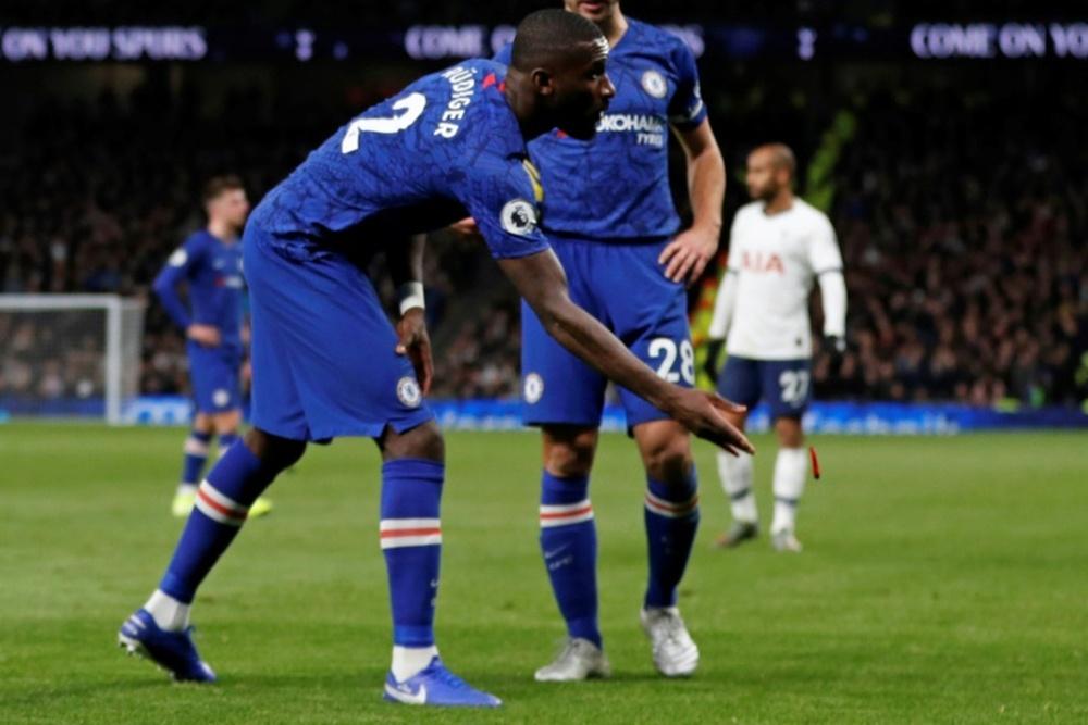 PSG e o Real estão atento ao divórcio Chelsea-Rüdiger.AFP