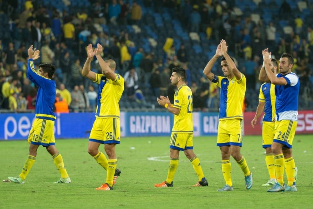 El Maccabi Tel Aviv estrenará, con el Maccabi Haifa, la Conference League. AFP/Archivo