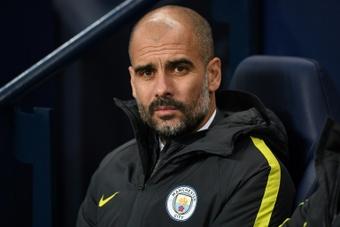 Guardiola abordó la polémica de la afición. AFP