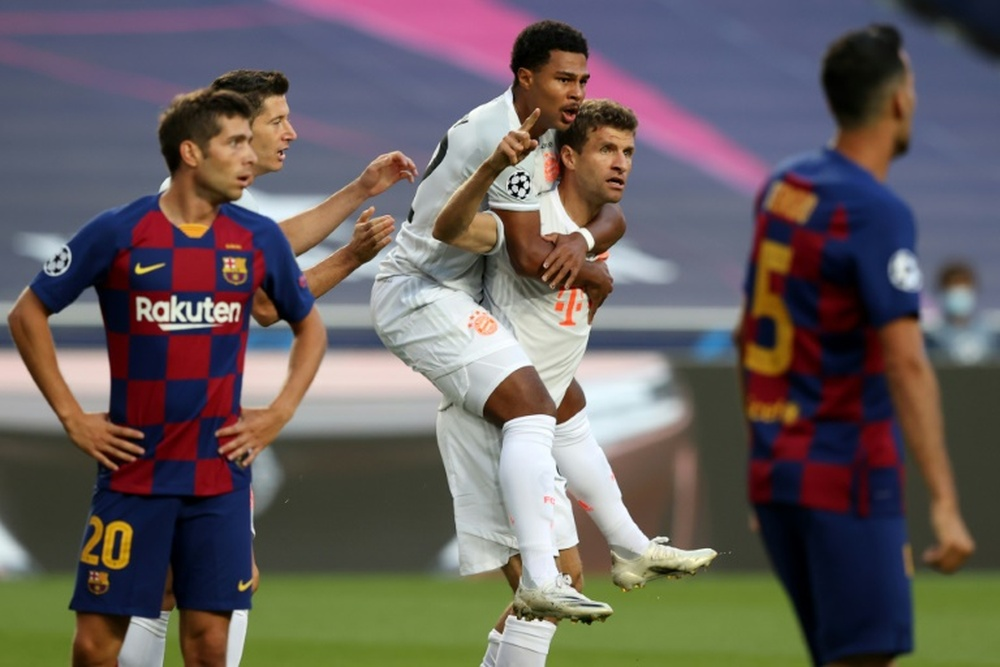 Compos probables : FC Barcelone-Bayern Munich. AFP