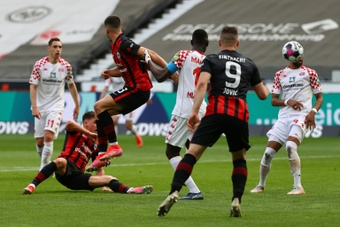 El Eintracht es de los favoritos. AFP