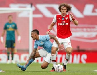 David Luiz podría aterrizar en Brasil. AFP