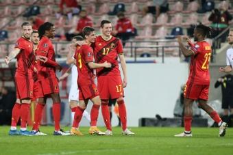 A Bélgica mais forte dos últimos anos. AFP