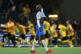 Paul Pogba pode acabar voltando à Juventus. AFP