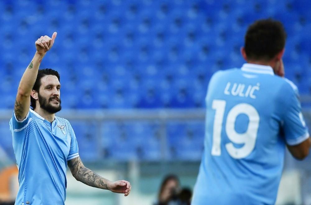 Le formazioni ufficiali di Lazio-Spezia. AFP