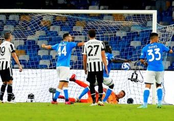 Le formazioni ufficiali di Udinese-Napoli. AFP