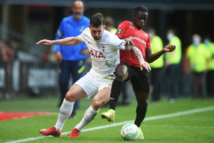 Rennes y Tottenham empataron. AFP