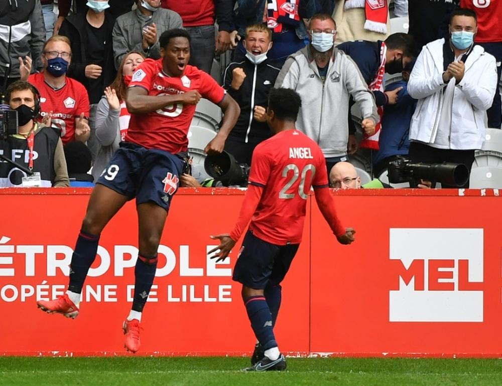 Compos probables : Lorient-Lille. afp