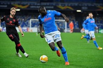 Koulibaly, obiettivo invernale del Chelsea. AFP