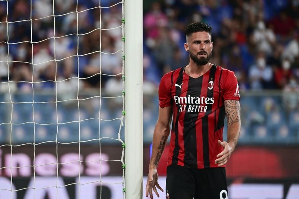 Le probabili formazioni di Milan-Cagliari. AFP