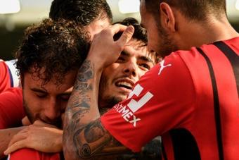 Brahim Díaz está totalmente focado no Milan. AFP
