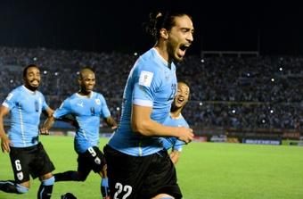 Officiel : Martin Caceres rejoint Cagliari. AFP