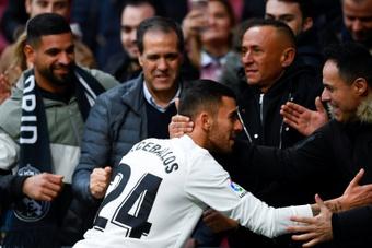 Dani Ceballos se queda en el Real Madrid. AFP/Archivo