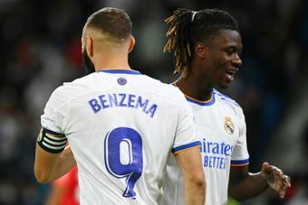Camavinga déjà sous le charme du Real Madrid. AFP