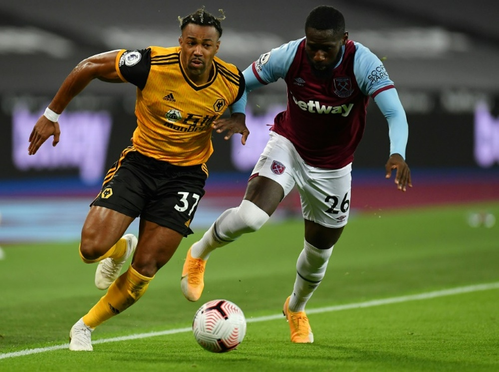 Wolves want to renew Adama Traore. AFP