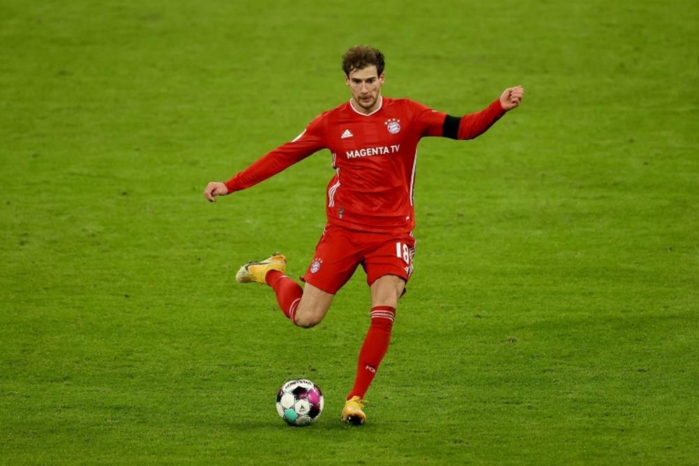 Goretzka está em seu último ano de contrato com o Bayern. AFP