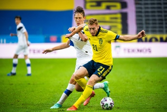 Tottenham atento a Dejan Kulusevski.AFP