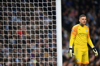 Ederson prolonge avec Manchester City. AFP