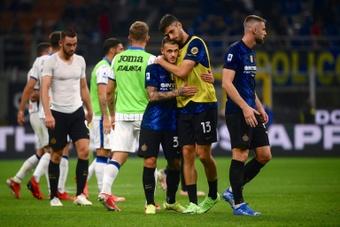 Ultim'ora del calcio italiano in data 25 settembre 2021. AFP