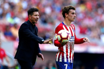 Simeone happy about Griezmann's return as he believes he can be a key player for the team. AFP