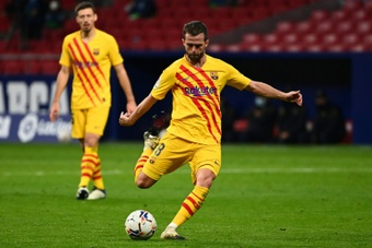 Pjanic is waiting for an offer from Juventus. AFP